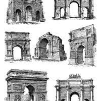 Arcs of Triomphe Art Prints & Posters by Gil Warzecha