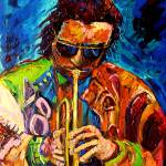 """MILES DAVIS JAZZMAN WITH THE BLUES"" by carolespandau"