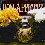 """""""Bon Appetite &  Mums the Word"""" by kyaudeart"""