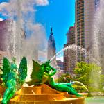"""Swann Memorial Fountain - HDR"" by FordLou"