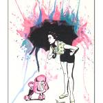 """""""The Pink Poodle"""" by berreyart"""