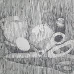 """Still-life ink line art"" by ChangedundertheSeal"