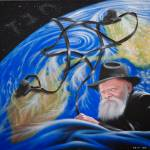 """The Lubavitcher Rebbe, Rabbi Menachem Mendel Schne"" by OferYomTov"