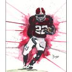 """Mark Ingram"" by berreyart"