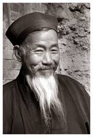 Chinese Monk Subject: Fine art, people, China