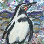"""Penguin"" by paintingsbygretzky"