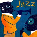 """""""Jazz in Blue and Yellow"""" by BenjaminBay"""