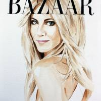 Harper's Bazaar. Jennifer Aniston Art Prints & Posters by Kasia Blanchard