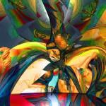 """Psychedelic Stroll"" by ManfredOlsen"
