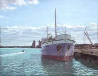 Southampton docks SS Shieldhall ship