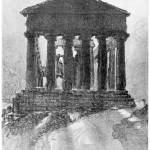 """Temple of Concord Girgenti"" by artbygeorge"