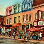 """ST LAWRENCE BOULEVARD MONTREALS FAMOUS STREET PAIN"" by carolespandau"