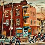 """WILENSKYS CORNER DELI WITH STREETHOCKEY"" by carolespandau"