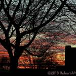 """Winter Storm Watch Sunset"" by DeborahWillardDesign"