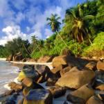 """""""Anse Takamaka Beach Seychelles"""" by rdwittle"""