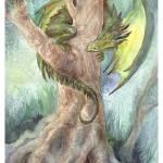 """Green Tree Dragon"" by Artlair"