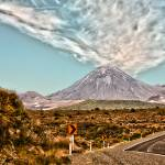 """Mount Ngauruhoe Landscape"" by johncorney"