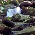 """Smoky Mountain Waterfall"" by eGiclee"