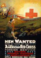 WW 1 RED CROSS POSTER