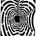 """maze-different-think-different-maze-apple-mac-maci"" by mazes"
