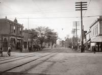 Hayward Theater, Castro Street, Hayward, c.1910 by WorldWide Archive