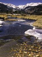 A Mountain Stream in Rocky Mountain National Park