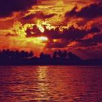 """""""Indonesian Sunset"""" by martycalabrese"""