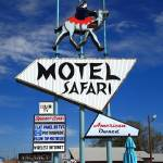 """Route 66 - Tucumcari, New Mexico"" by Ffooter"