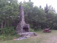 Outdoor chimney