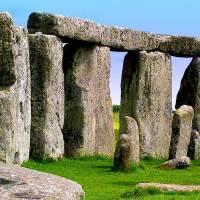 Stonehenge, England Art Prints & Posters by Jen White