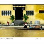 """Hoi An Vietnam - Fine Art Poster"" by Bozarth"