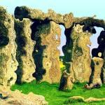 """Stonehenge - grainy"" by JenniferLaskerWhite"