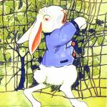 """CLASSIC PETER RABBIT ILLUSTRATION"" by homegear"