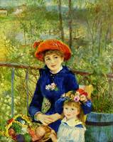 RENOIR ON THE TERRACE