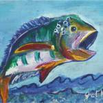 """Bass"" by paintingsbygretzky"