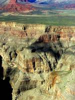 The Grand Canyon Nevada USA from the air