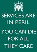 Services are in peril -westminster
