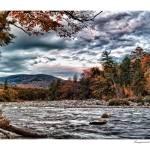 """Pemigewasset River East Branch Autum"" by aknbean"