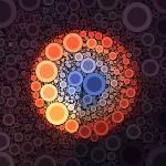 """Sunrise 1 Circle Art - Fine"" by jbhaber"