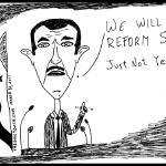 """Assad ... Not a Reformer."" by imag"