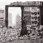 """Woman in Rubble, San Francisco, April 1906"" by worldwidearchive"