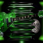 """Green Guitar"" by ShayneHanson"