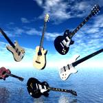 """Floating Guitars"" by ShayneHanson"