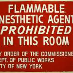 """Flammable Anesthetics"" by drsam"