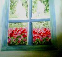 Garden Window View