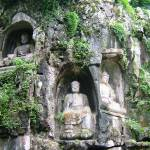 """Buddhas carved in stone"" by JoEllis"
