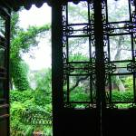 """Decorative doors at Hangzhou, China garden"" by JoEllis"