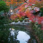 """Kyoto park at dusk"" by JoEllis"