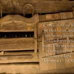 """""""scripture Come unto me matt 11-28 landscape copy00"""" by BrianDunne"""