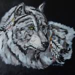 """Native Wolf"" by DawnMacIntyreKoebel"